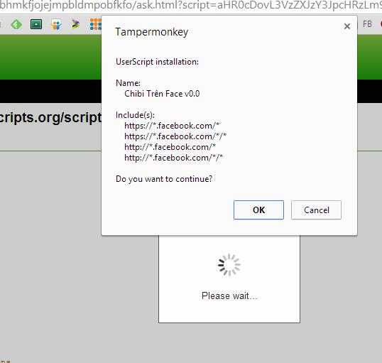 install js tampermonkey Auto tag Facebook   Làm thế nào để tránh?